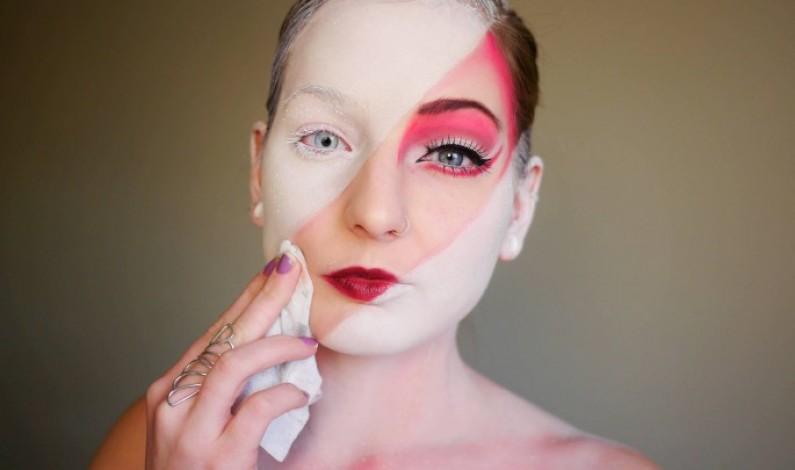 WOW! Talentovaná dívka vytváří neuvěřitelný make up