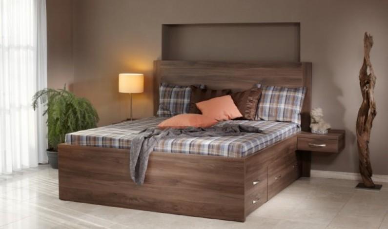 Postele z masivu pro zdravější spánek