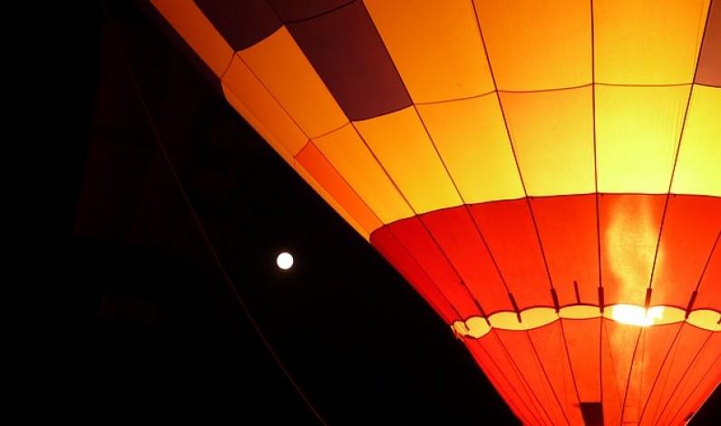 Letěl jsem balónem! To byla super akce a ojedinělý zážitek
