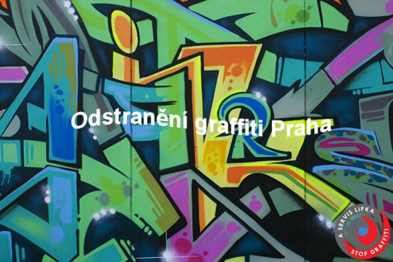 Čištění, odstranění graffiti Praha