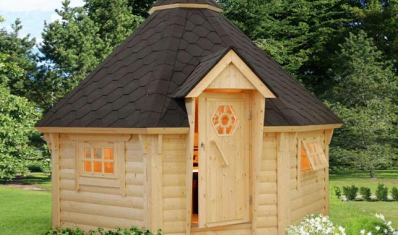 Chybí vám relaxační kout na zahradách? Postavte zde zahradní domky!