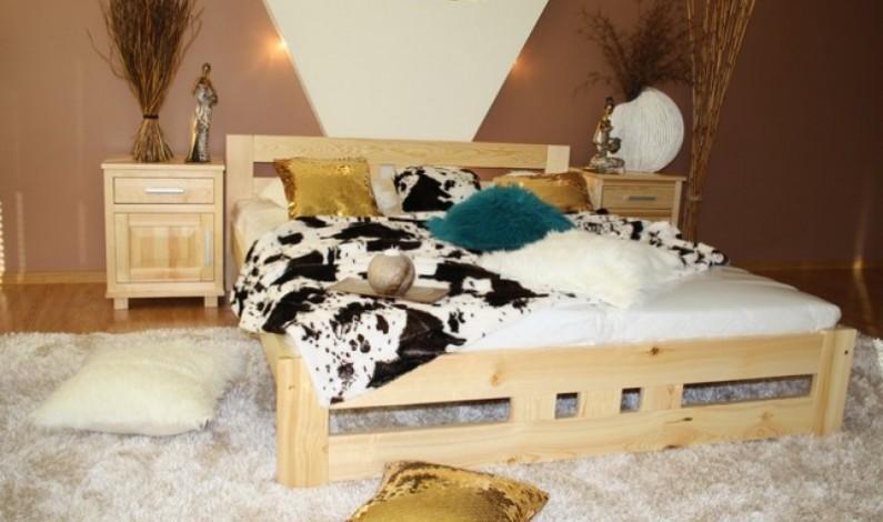 Dřevěné postele – pohodlí a elegance v jednom