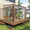 Dřevo, kov, plast, ratan – jaký nábytek je pro zimní zahradu nejvhodnější
