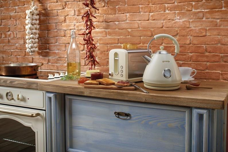 Rustikální styl: Kuchyně v jednotném stylu s kolekcí Gorenje Classico