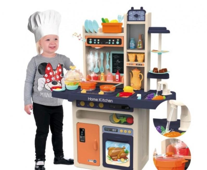 Velká kuchyň pro malé kuchařky