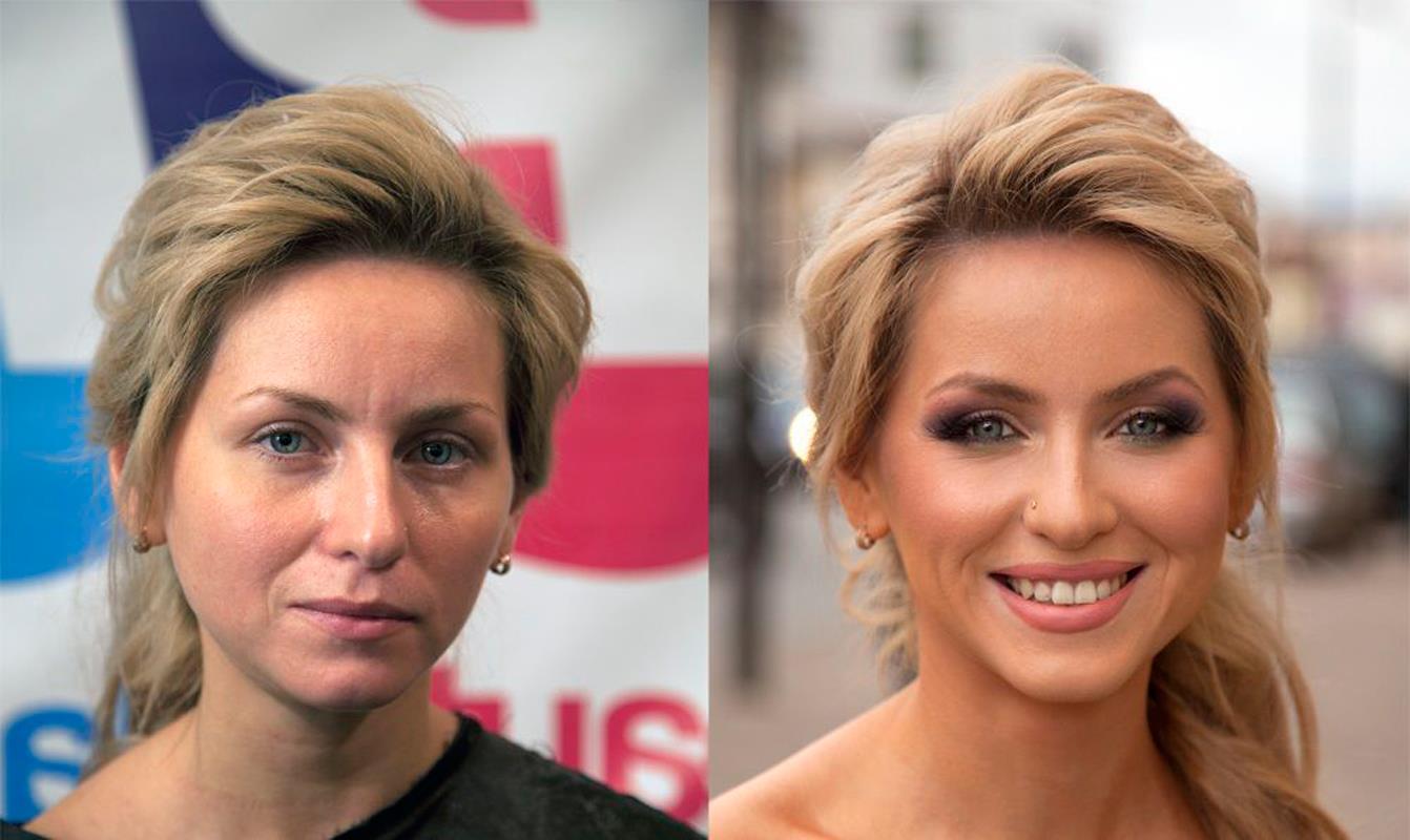 Вечерний макияж женщине за 40 лет